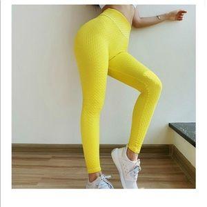 Astoria Seamless Scrunch Legging - Yellow